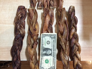 "Bully Stick Braided 12"" XX-Thick"