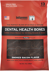 Indigenous Pet Treats Bacon Bones 13ct