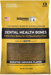 Indigenous Pet Treats Chicken Bones 13ct